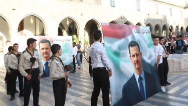 Bassár el-Aszad szíria választások