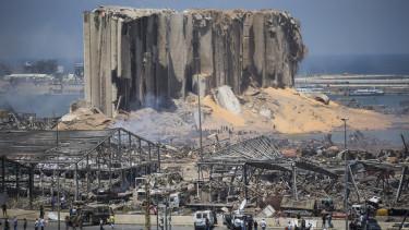 bejrut robbanás
