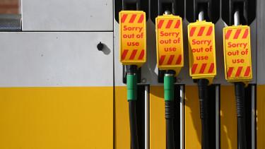 benzinhiány nagy-britannia