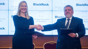 BlackRock signs co-operation agreement with Corvinus University of Budapest
