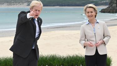 Boris Johnson Brexit Ursula von der Leyen 210722