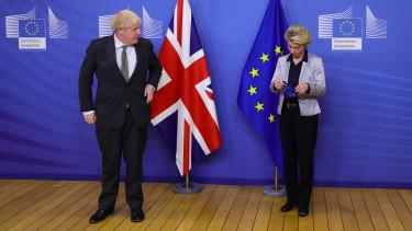 Boris Johnson Brexit Ursula von der Leyen bejelentes 201012