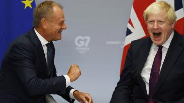 Brexit 3 honapos halasztast kaphatnak a britek EU Donald Tusk Boris Johnson