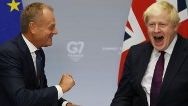 Brexit harmadik halasztas Donald Tusk Boris Johnson EU beleegyezett