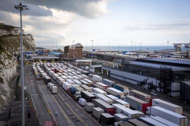 brexit kamionsor dover kent