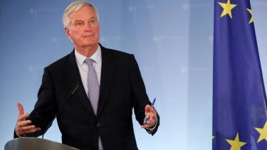 Brexit zold a lampa a megallapodasra Michel Barnier