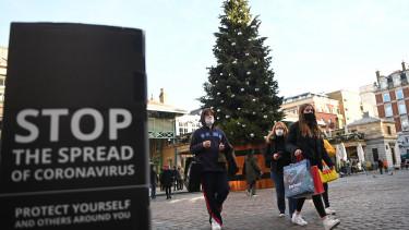 brit koronavírus járvány vírustörzs