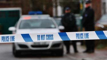 brit rendőrség