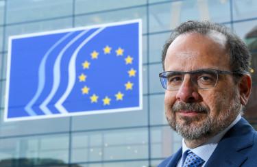 Brussels , 09/04/2018eesc nouvelle présidence + Cabinet.Credit : Frederic Sierakowski / Isopix