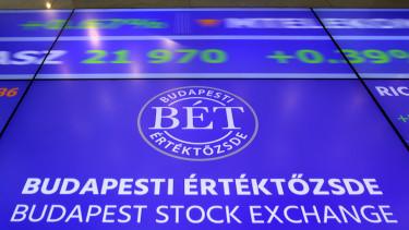 Budapest Értektőzsde (BÉT) stock fotóanyag 2016 augusztus 2-án