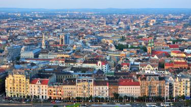 Budapest ingatlanpiac lakások madártávlat