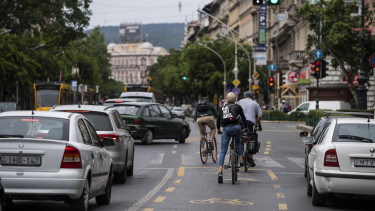 budapest kerekpar kozlekedes gazdasagi elonyok levego munkacsoport