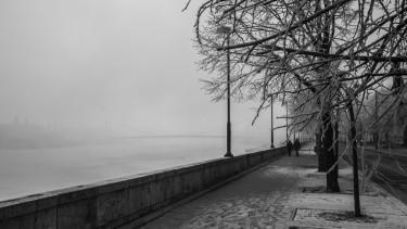 budapest köd tél