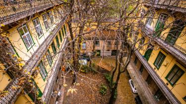 budapest körfolyosó lakás