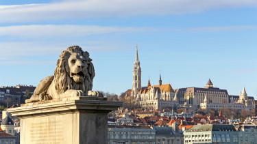 budapest lánchíd oroszlán