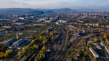 budapest látkép vasút