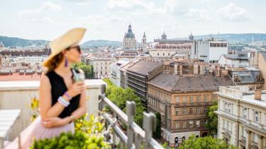 budapest panoráma erkély
