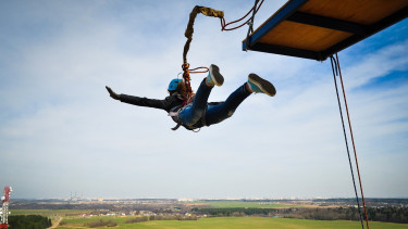 bungee jumping getty stock
