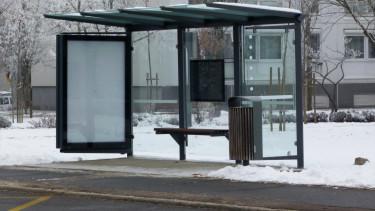 buszmegálló volán busz
