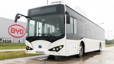 byd elektromos busz