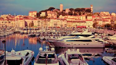 Cannes kikötő