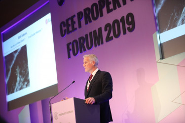CEE Property Forum Bécs, 2019 - Mike Atwell, JLL