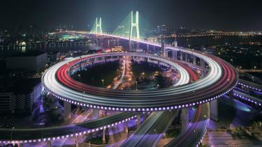 China, Shanghai, Nanpu híd