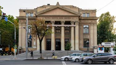 Chisinau Moldova nemzeti színház