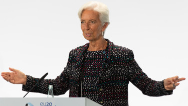 christine lagarde ekb