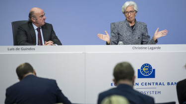 Christine Lagarde EKB koronavirus eszkozvasarlas kotvenyhozam