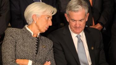 Christine Lagarde Jerome Powell EKB Fed eszkozvasarlas dollar euro210824