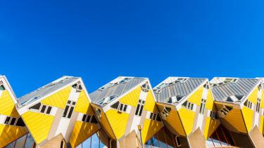 cubic houses, rotterdam, hollandia, kocka, lakás