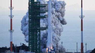 Dél-Korea első saját gyártmányú űrrakéta