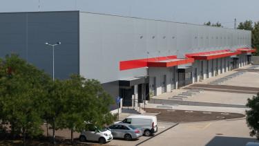 Dél-pesti Üzleti Park egy raktárépülete a Diófa fejlesztésében