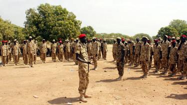 del szudan haboru katonak