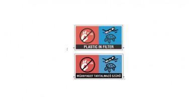 dohánytermék műanyag jelzés környezetvédelem