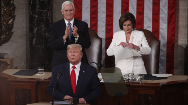 Donald Trump impeachment eljaras egyesult allamok szenatus