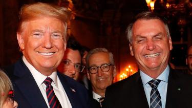 Donald Trump Jair Bolsonaro koronavirus feher haz 1