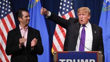 donald trump jr és trump elnök