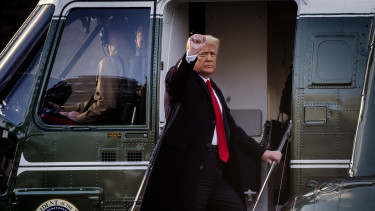 donald trump marine one