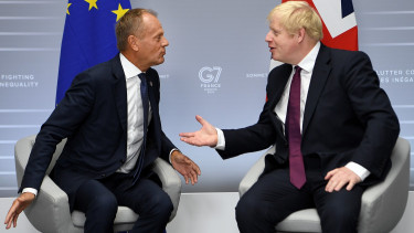 Donald Tusk Boris Johnson Brexit ultimátum