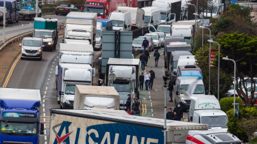 dover határ brexit brit koronavírus vámkezelés határ