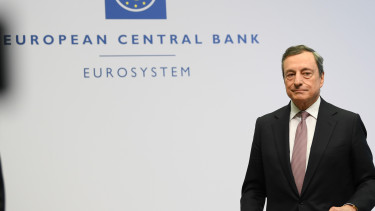 dpatop - 25 July 2019, Hessen, Frankfurt/Main: ECB President Mario Draghi. Photo: Arne Dedert/dpa (Photo by Arne Dedert/picture alliance via Getty Images)