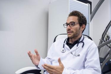 Dr. Spányik András, a Doktor24 Egészségközpont orvosigazgatója