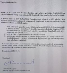 dunaferr levél