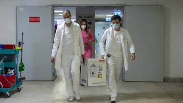 egri kórház koronavírus vakcina védőoltás pfizer biontech