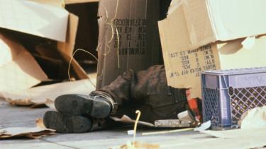 éhség szegénység hajléktalan