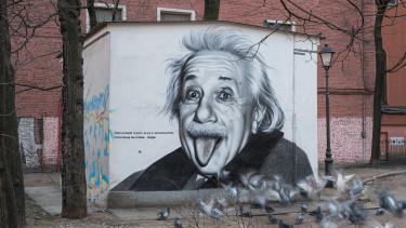 Elárverezték Einstein Európát temető levelét