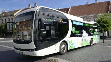 elektromos autóbuszok beszerzésé