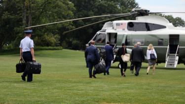elnök bőrönd